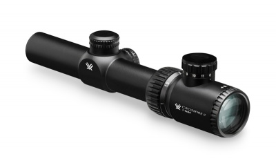 Crossfire II 1-4x24 V-Brite (MOA) Reticle 30mm Tube VORTEX