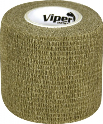 Camouflage Self Clinging Tac Wrap Tape OD Green Viper Tactical