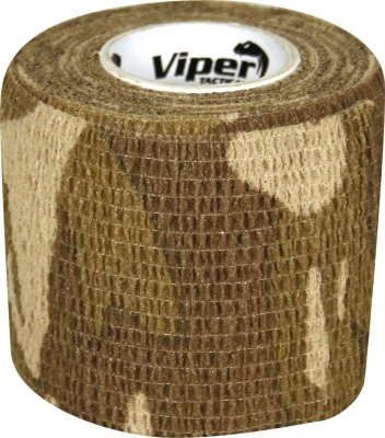 Camouflage Self Clinging Tac Wrap Tape VCAM Viper Tactical