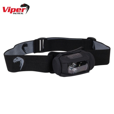 Special Ops Head Torch Black Viper Tactical