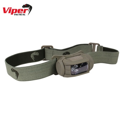 Special Ops Head Torch OD Green Viper Tactical
