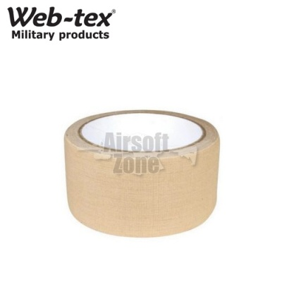 Camouflage Fabric Tape Sand WEB-TEX
