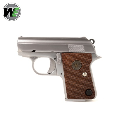 C25 Full Metal Pistol Silver GBB WE