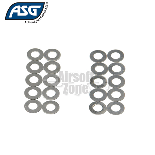 Shim Set (10x 0.15mm, 10x 0.30mm) ASG