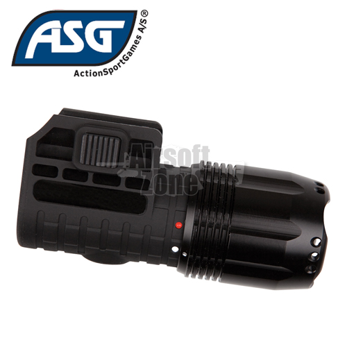 Tactical LED Pistol Torch with Mounts ASG