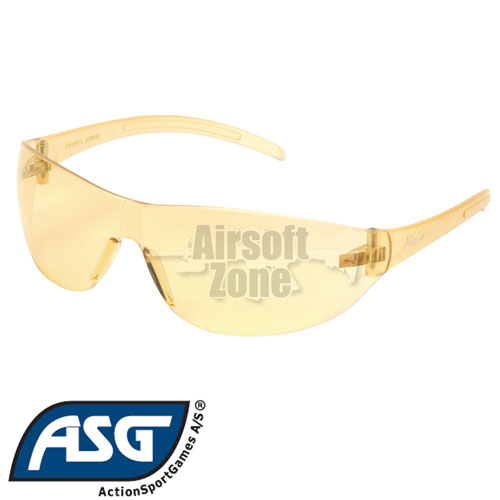 Yellow Lens Protective Glasses ASG