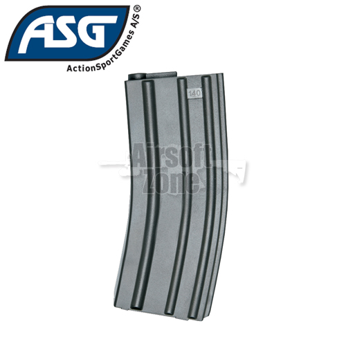 M4 / M16 Magazine 140rnd Mid-Cap Box of 10 ASG