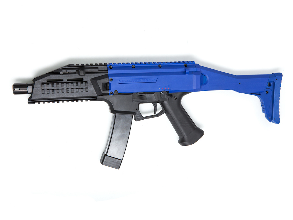 Scorpion EVO 3-A1 M95 Version Two Tone Blue MOSFET AEG ASG