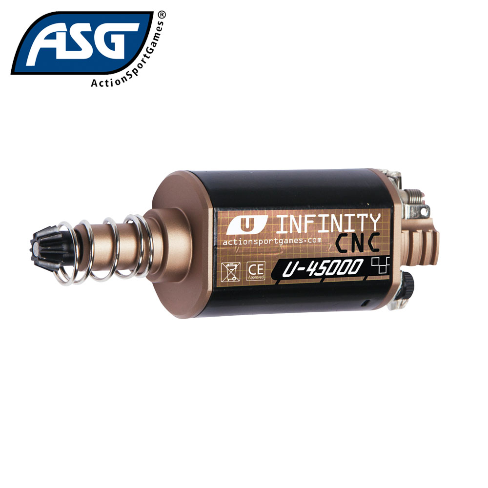 Infinity CNC U-45000 High Speed Motor Long Ultimate ASG