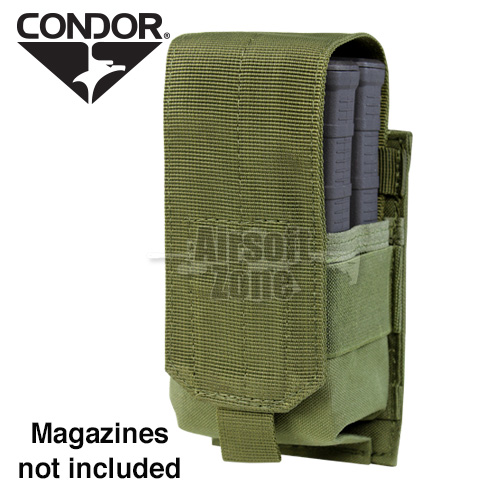 Single M14 Magazine Pouch (holds 2 mags) OD Green CONDOR