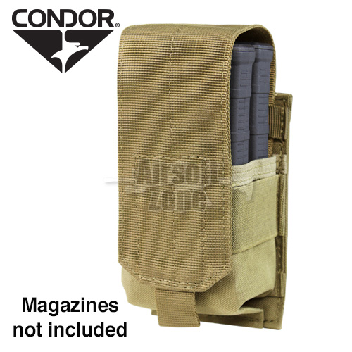 Single M14 Magazine Pouch (holds 2 mags) Tan CONDOR