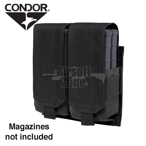 Double M14 Magazine Pouch (holds 4 mags) Black CONDOR