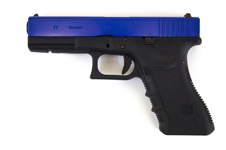 G17 Gen3 Pistol Two Tone Blue GBB WE