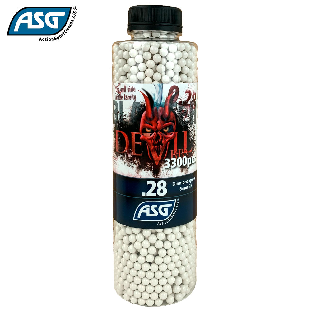 Blaster Devil 0.28g BBs Bottle of 3300 ASG