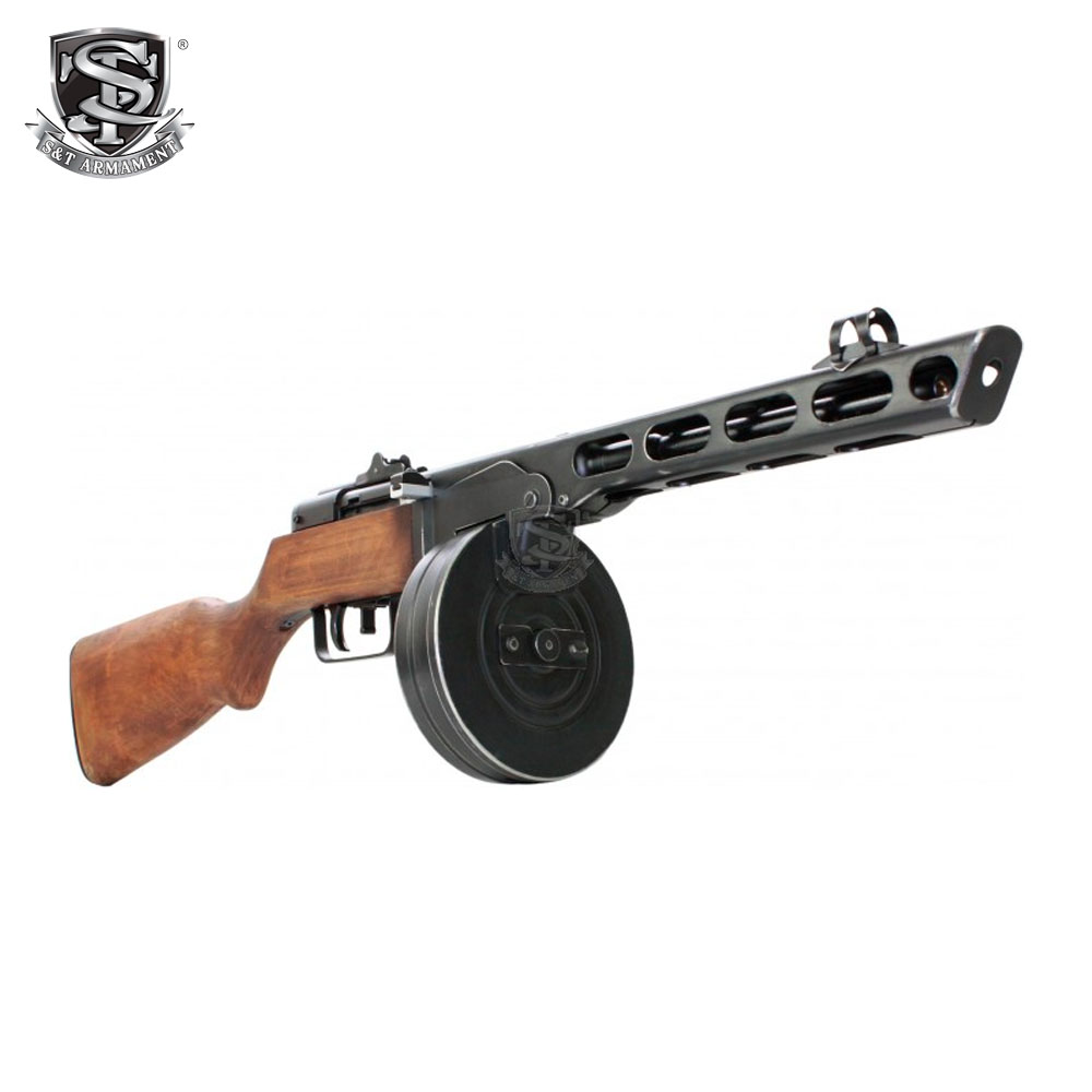 PPSH Electric Blowback Rifle - Real Wood AEG S&T
