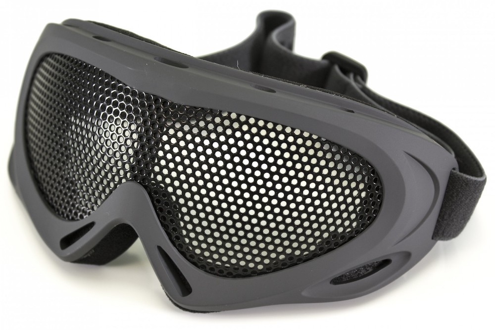 Pro Wire Mesh Goggles Large Grey NUPROL