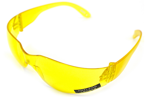 Protective Airsoft Glasses Yellow NUPROL