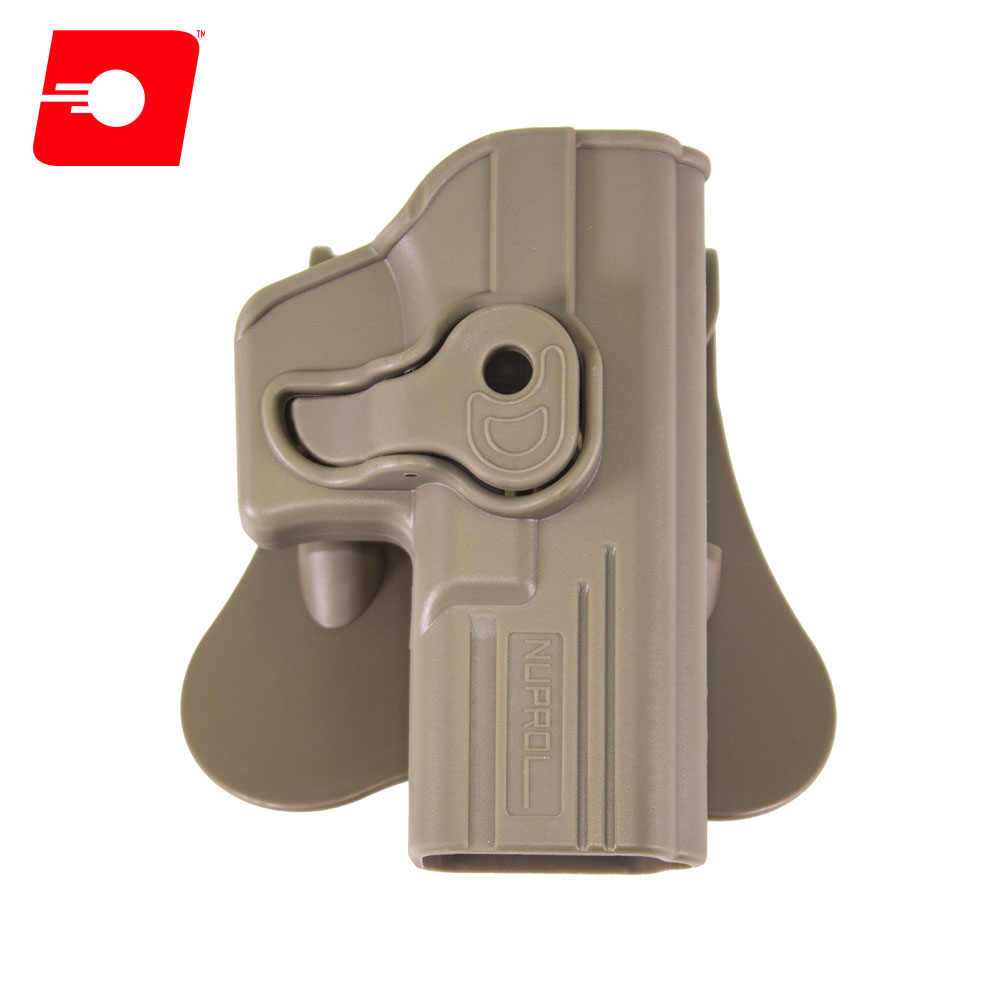 Retention TAN Holster for Glock Series on Rotating Paddle NUPROL