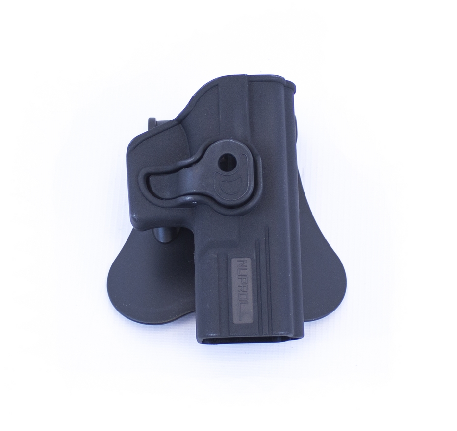 Retention Holster for Glock Series on Rotating Paddle NUPROL