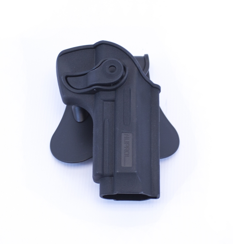 Retention Holster for Beretta M9/M92 Series on Rotating Paddle NUPROL