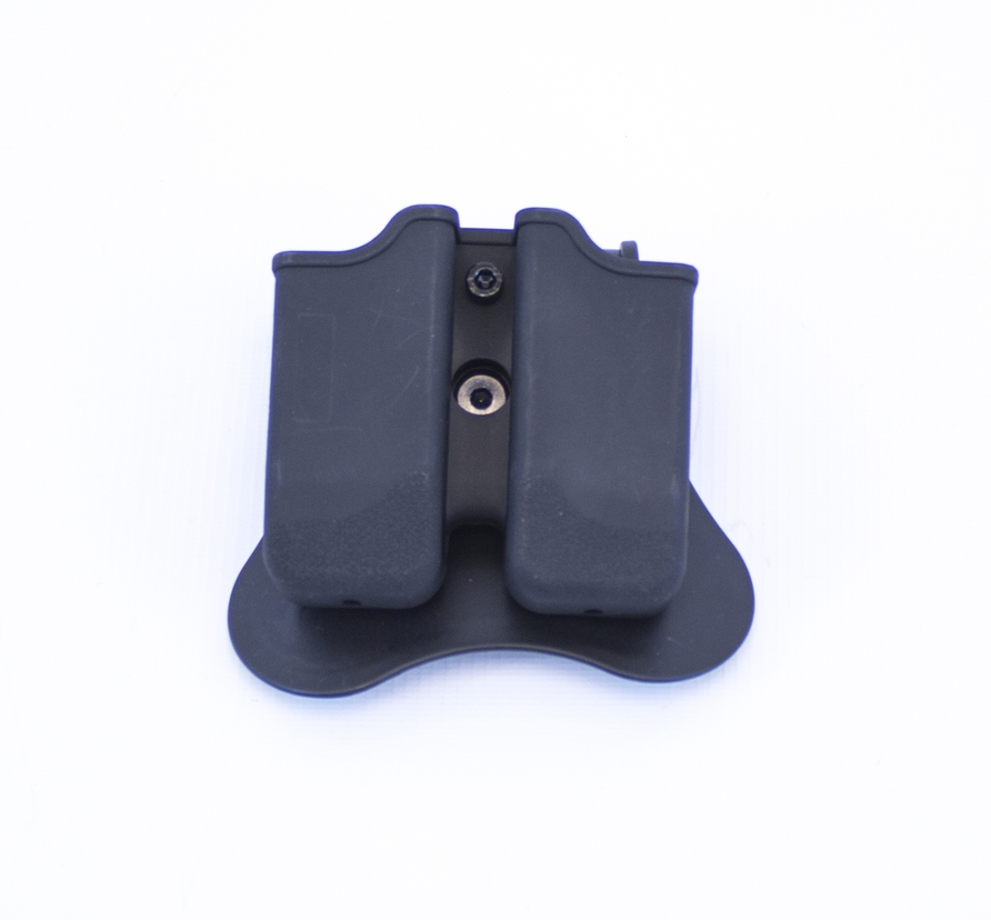 Double Magazine Pouch for Beretta M9/M92 Series Mags on Rotating Paddle NUPROL