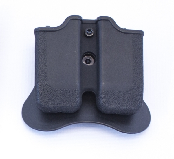 Double Magazine Pouch for 1911/MEU Series Mags on Rotating Paddle NUPROL