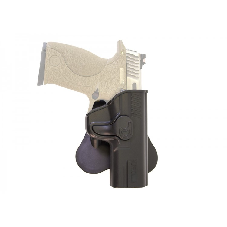 Retention Holster for M&P (Big Bird) Series on Rotating Paddle NUPROL