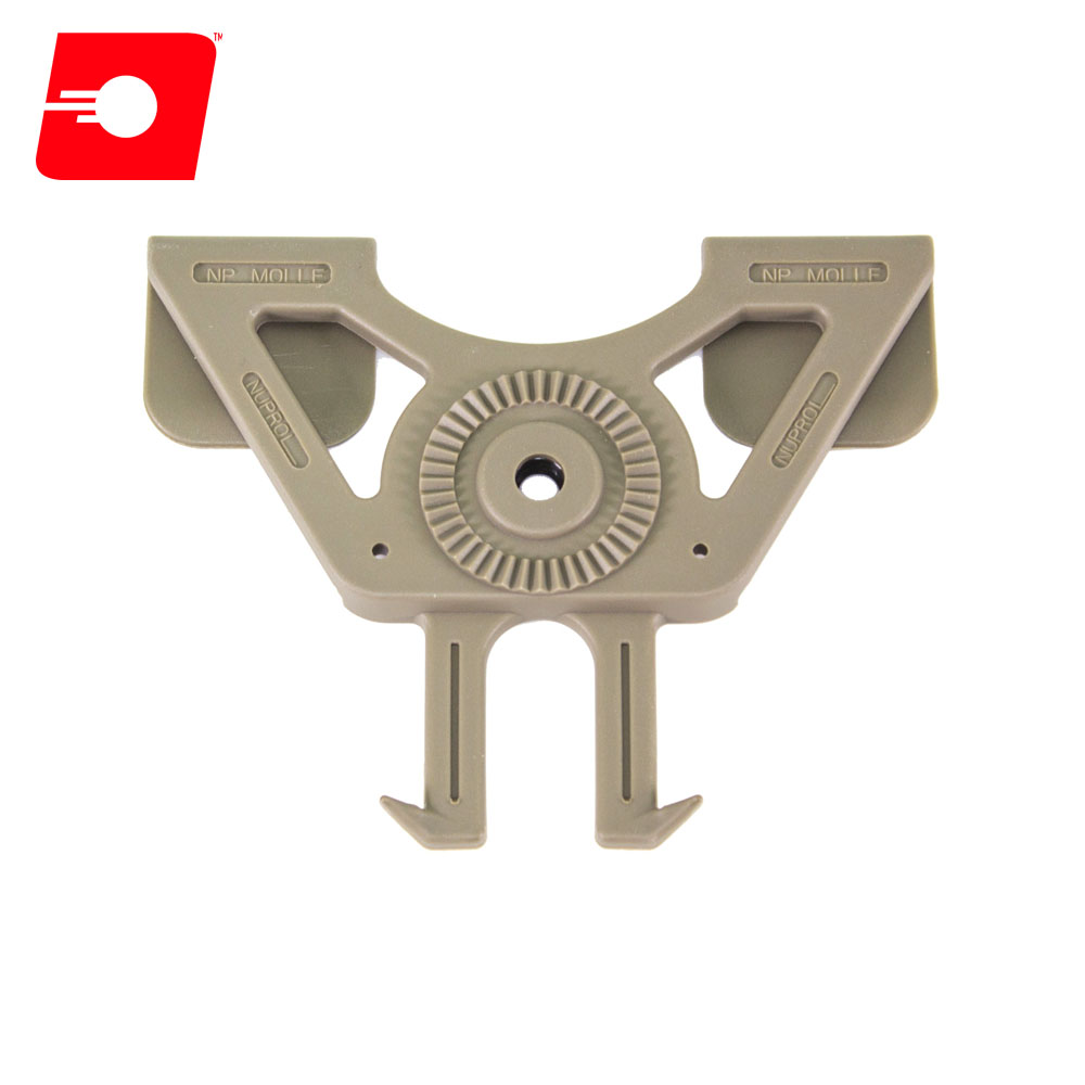 MOLLE Holster Adapter TAN NUPROL
