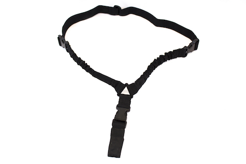 One Point Bungee Sling 1000D Black NUPROL