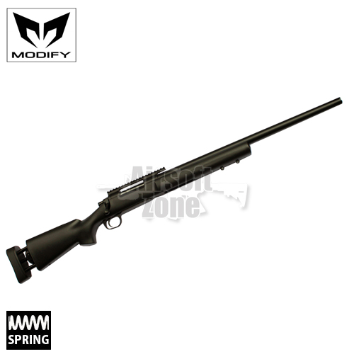 M24 MOD24 Black Bolt Action Spring Sniper Rifle MODIFY
