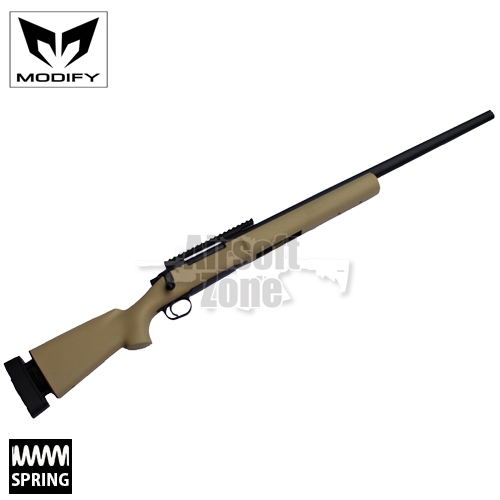 M24 MOD24 Tan Bolt Action Spring Sniper Rifle MODIFY