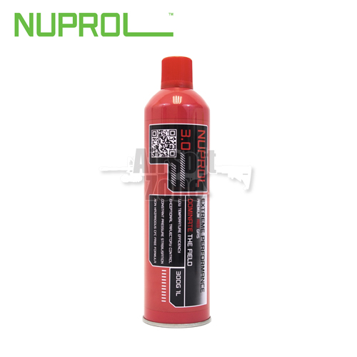 Nuprol 3.0 Premium Red Gas 1000ml (300g) NUPROL