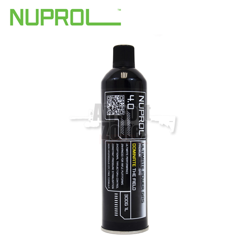 Nuprol 4.0 Premium Black Gas 1000ml (300g) NUPROL