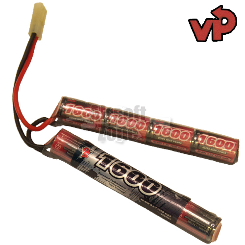9.6V 1600mAh NiMh Crane Stock Battery (mini Tamiya) VP