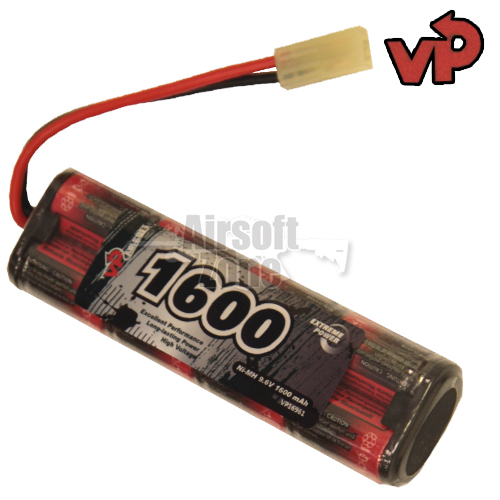 9.6V 1600mAh NiMh Mini Battery (mini Tamiya) VP