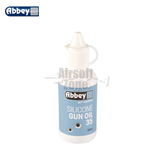 Silicone Gun Oil 35 Dropper Bottle 30ml Abbey