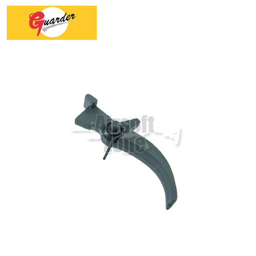 Steel Trigger with Trigger Spring For Marui M4 / M16 Series Guarder