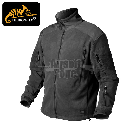 Liberty Fleece Jacket Black HELIKON