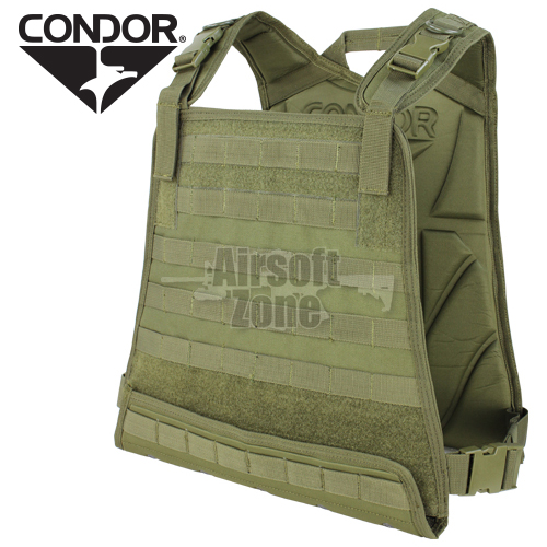 MBSS Compact Plate Carrier MOLLE OD Green CONDOR