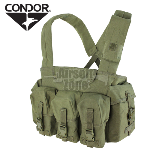 7 Pocket Chest Rig OD Green CONDOR