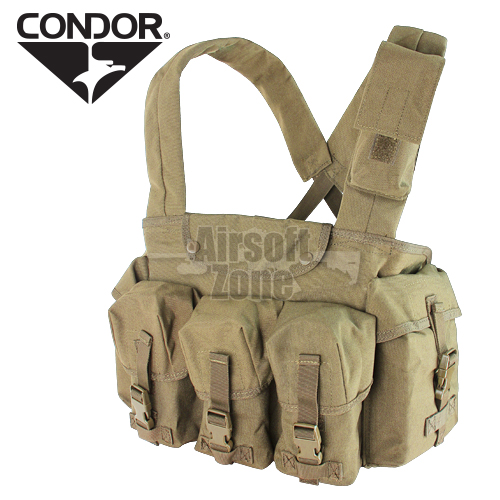7 Pocket Chest Rig Tan CONDOR