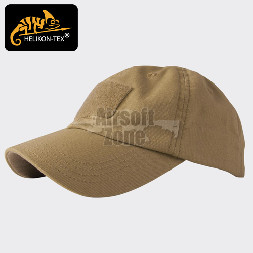 Baseball Cap with Velcro Coyote Brown HELIKON