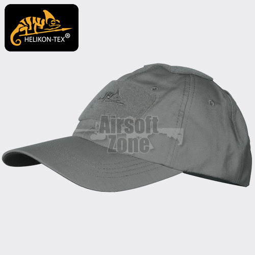Baseball Cap with Velcro Shadow Grey HELIKON
