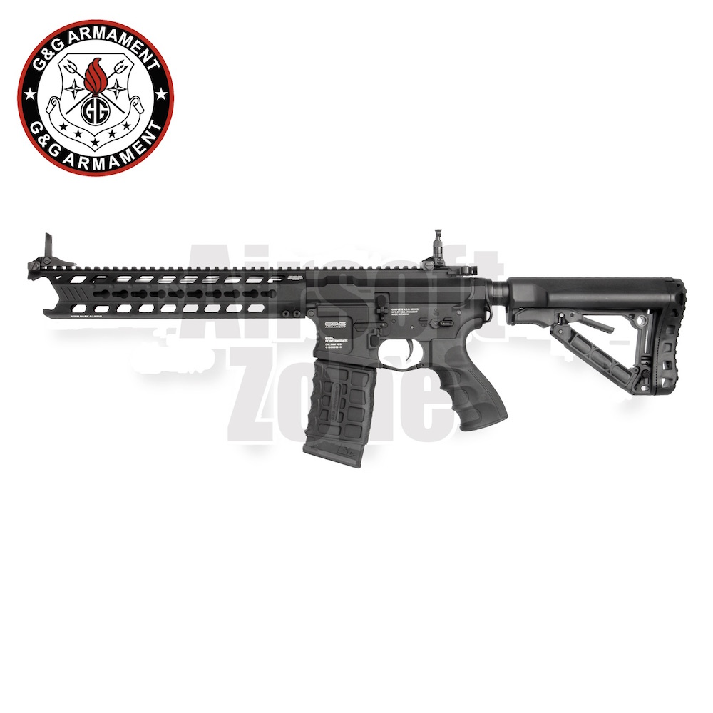 GC16 M4 Predator Black with ETU MOSFET AEG G&G