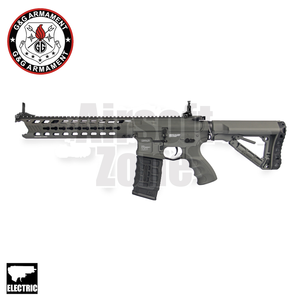 GC16 M4 Predator Battleship Grey with ETU MOSFET AEG G&G
