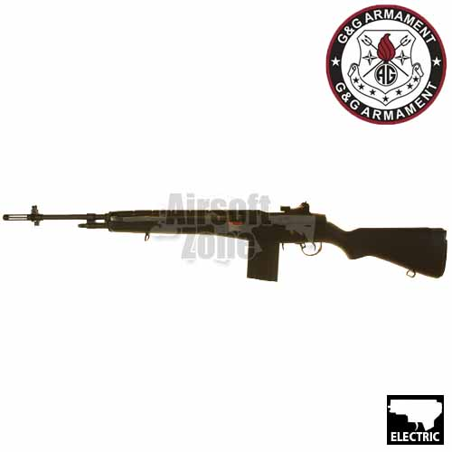 GR14 M14 Rifle Black Stock AEG G&G
