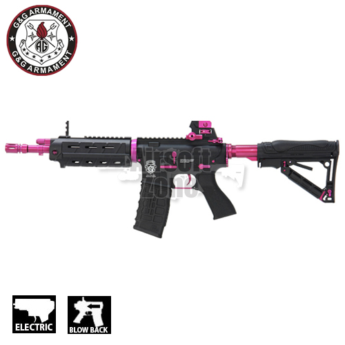 GR4 G26 Black Rose M4 Carbine Blowback AEG G&G