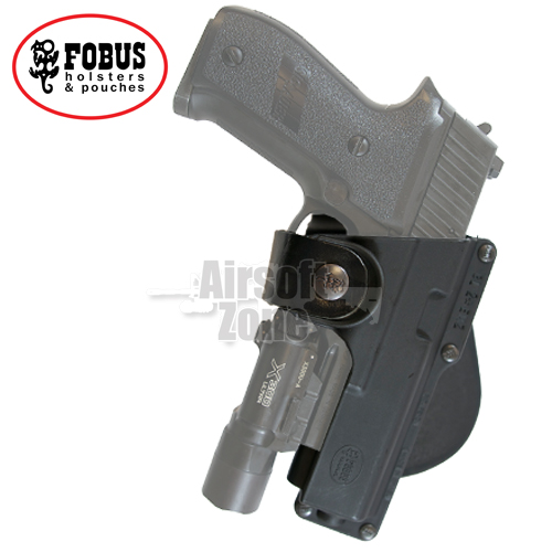 Holster for SIG P226 / USP / M&P with Light or Laser on Rotating Paddle FOBUS
