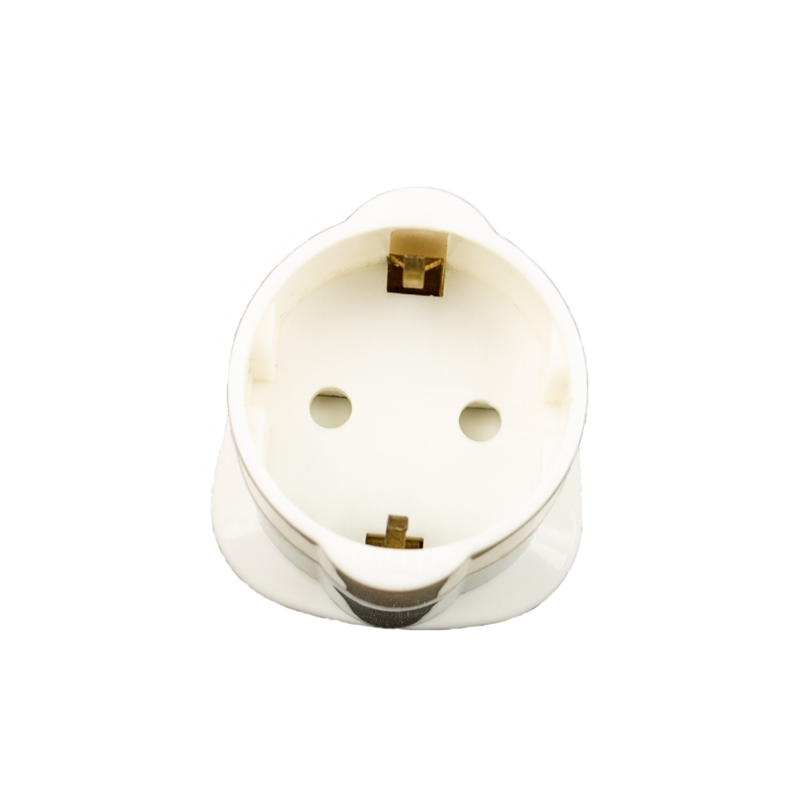 Mains adaptor EU plug to UK socket