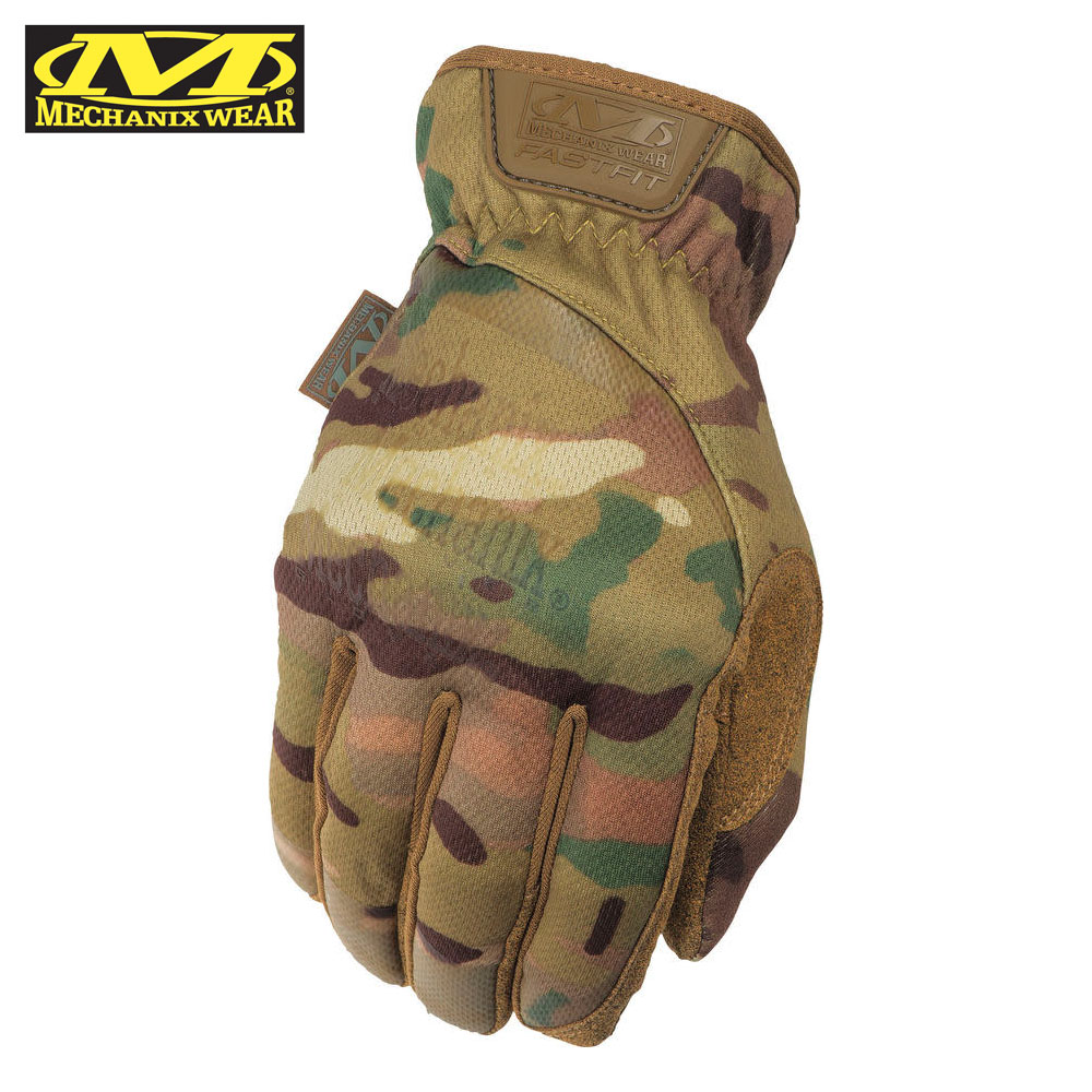 FastFit Multicam Tactical Gloves Mechanix